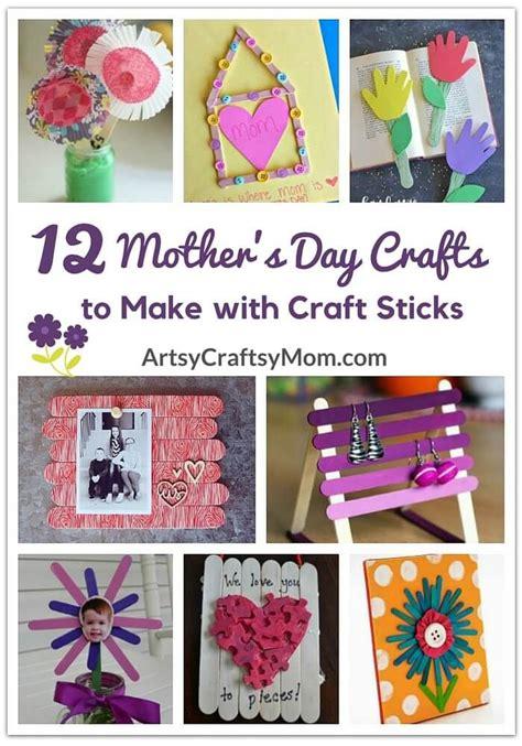 mothers day crafts    craft sticks craft