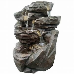 Fontaine Exterieur Zen : grande fontaine de jardin niagara ~ Nature-et-papiers.com Idées de Décoration