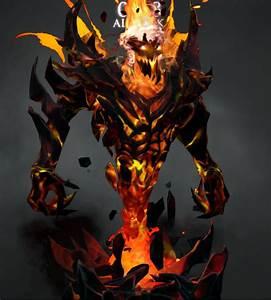Shadow Fiend Demon Eater Arcana By Wyk DotA2