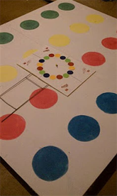 homemade twister game fun family crafts