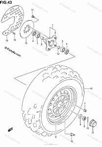 Suzuki Ozark 250 Parts Diagram