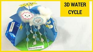 Water Cycle For Kids Project