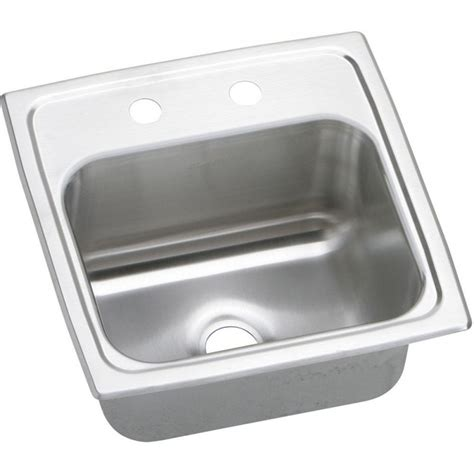 elkay bar sink elkay bpsr15 gourmet pacemaker stainless steel single