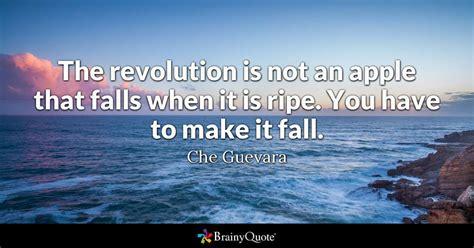 che guevara  revolution    apple  falls