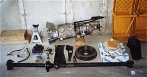 volvo aw   transmission conversion