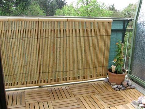 Bambus Für Balkon by Bambusmatte Balkon F 252 R Sichtschutz F R Garten Terrasse Und