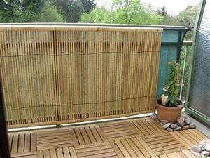 Sichtschutz Balkon Glas : balkon sichtschutz natur ~ Indierocktalk.com Haus und Dekorationen