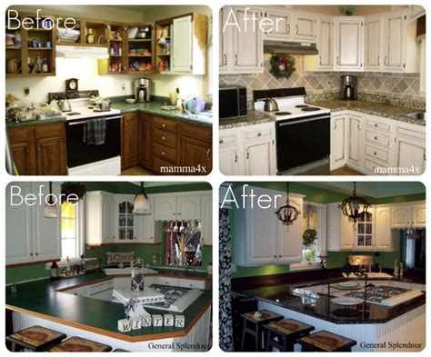 Updating Your Kitchen Counters On A Budget Kitchen Remodel Budget Worksheet White Cabinets With Butcher Block Countertops Unique Light Fixtures Aga Backsplash Peel And Stick Benches For Small Desk Power Strip