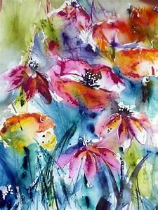 Aquarell Blumen Malen : malen zeichnen lernen malen lernen aquarellmalerei wahl der farben claudia kassner ~ Frokenaadalensverden.com Haus und Dekorationen