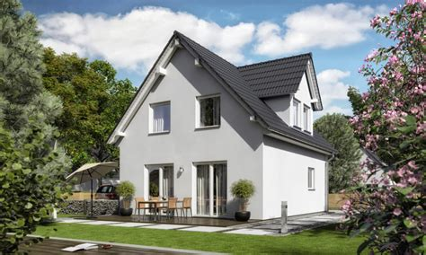 Haus Mit Satteldach by Satteldach Haus Mit Gaube Raumwunder 90 Trend Town