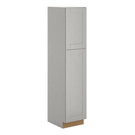 home depot kitchen cabinet hton bay princeton assembled 18 x 84 x 24 in pantry 7089