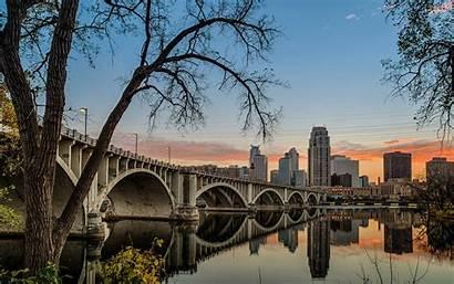 Minnesota Mississippi Bridge 35w River Wallpapers Minneapolis