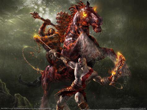 Kratos And Horse God Of War Photo 1481671 Fanpop