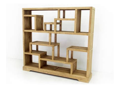 biblioth 232 que ouverte et destructur 233 e moka en bois de
