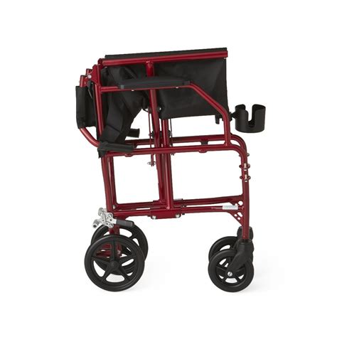 medline ultra light weight transport chair wheelchair