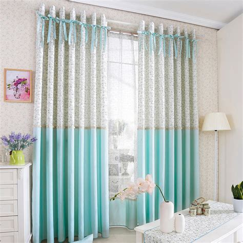 Princess Style Room Darkening Curtain For Kids Room With