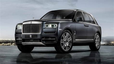 Rolls Royce Starting Price rolls royce debuts cullinan suv with 325k starting price