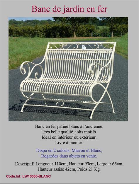 banc fauteuil chaise de jardin en fer forgé d interieur d