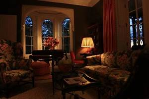Beautiful and Cozy Living Room - fireplace not in picture ...