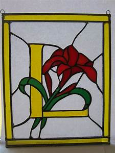61 best stained glass letters images on pinterest With glass alphabet letters