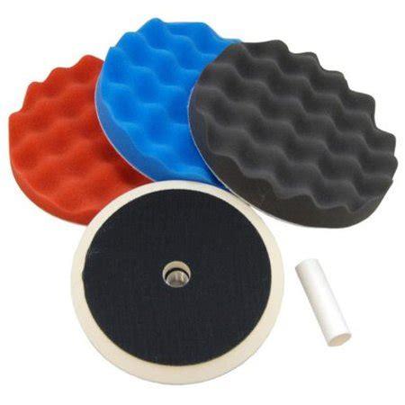 waffle foam buffing polishing pad kit    polish