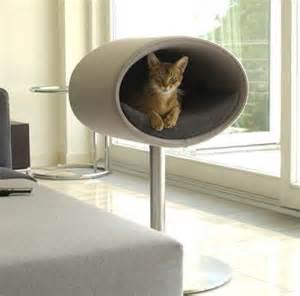 kratzbaum designer modern cat beds rondo by meyer digsdigs