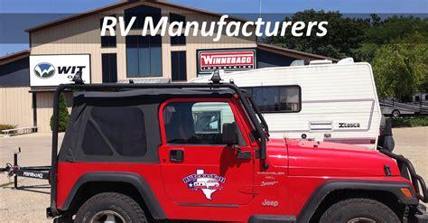 RV Manufacturers   RVTexasYall.com