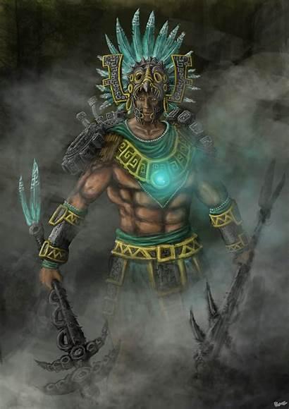 Aztec Warrior Gods Deviantart Azteca Aztecas Jaguar