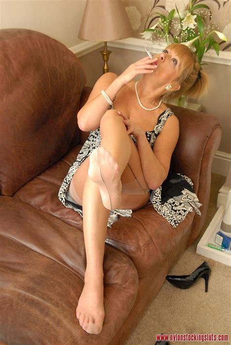 Lusty Mature Chick In Tight Pantyhose Smoki Xxx Dessert Picture