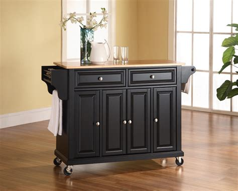 black kitchen island cart the 15 most new and unique designs for the kitchen island 4705