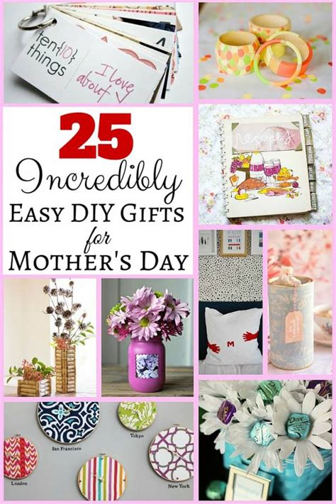 and easy s day gifts 25 incredibly easy diy gifts for mother s day the budget diet