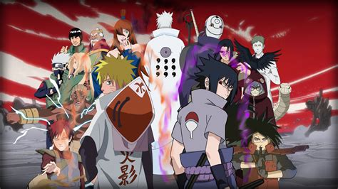 naruto characters wallpapers wallpapertag