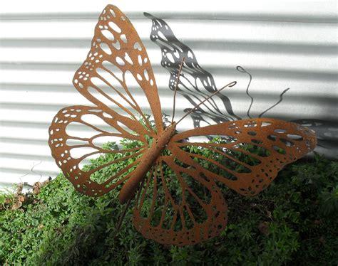 Kiwiana Garden Art Monarch Butterfly Felt