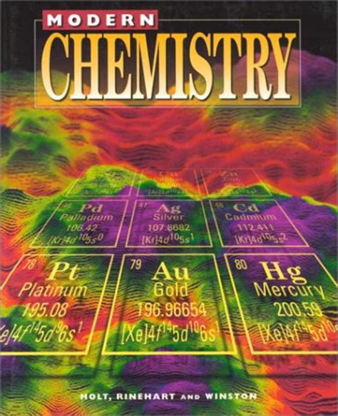 modern chemistry by h clark metcalfe reviews discussion bookclubs lists
