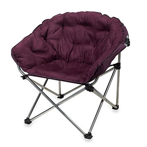 folding club chair  purple bed bath