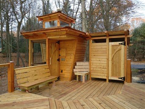 Jbs Custom Sauna And Shower Cabana Siberian Larch Exterior