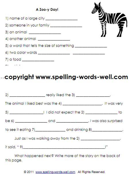 fun  grade writing practice