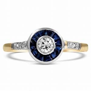 art deco diamond vintage ring rodeo brilliant earth With rodeo wedding rings