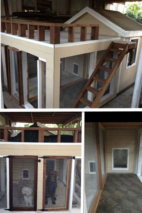 dog house  porch terrace  windows  closing doors  inclusion  needed