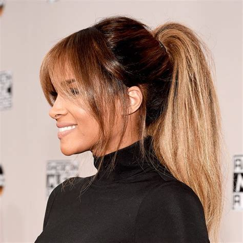 Carpet Ponytail Hairstyles by This Hair Trend Took The Ama Carpet The Look