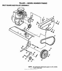 Ayp  Electrolux Fn850c  1995  Parts Diagram For Belt Guard