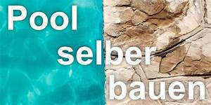 Swimmingpool Selber Bauen : pool selber bauen eigener garten swimmingpool aus beton ~ Watch28wear.com Haus und Dekorationen