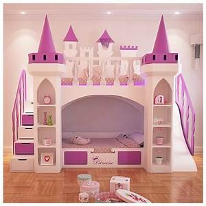 awesome chambre fille chateau princesse photos amazing With bureau pour chambre de fille