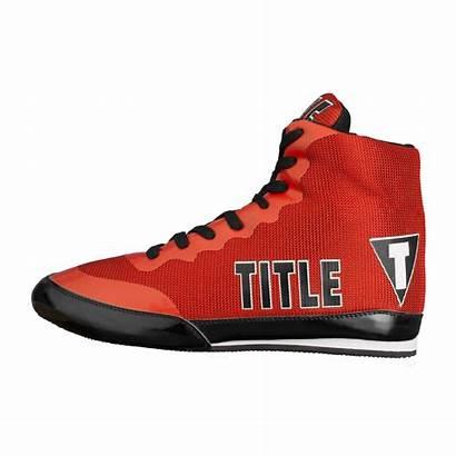 Boxing Shoes Champ Title Bout Left Exploit