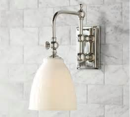 potential sconce pottery barn bathrooms pinterest