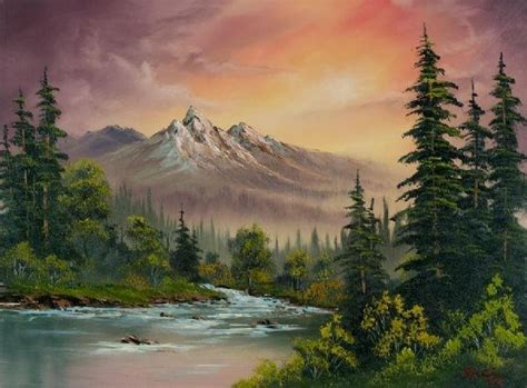 Did Famed Television Artist, Bob Ross, Ever Paint Anything