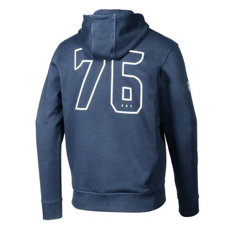 era seattle seahawks full zip hoodie number blau