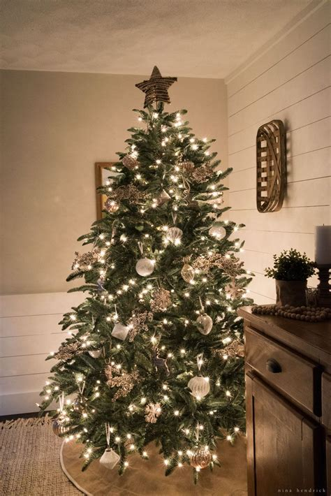 woodland inspired christmas tree  bloggers