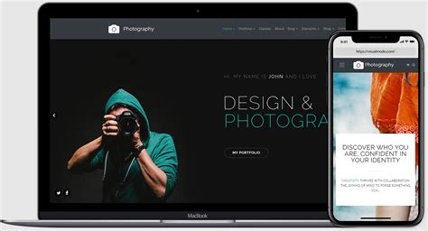 photography wordpress theme website builder  visualmodo