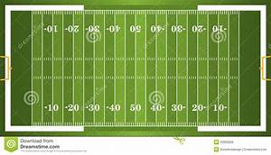 Textured Grass American Football Field Stock Vector ...